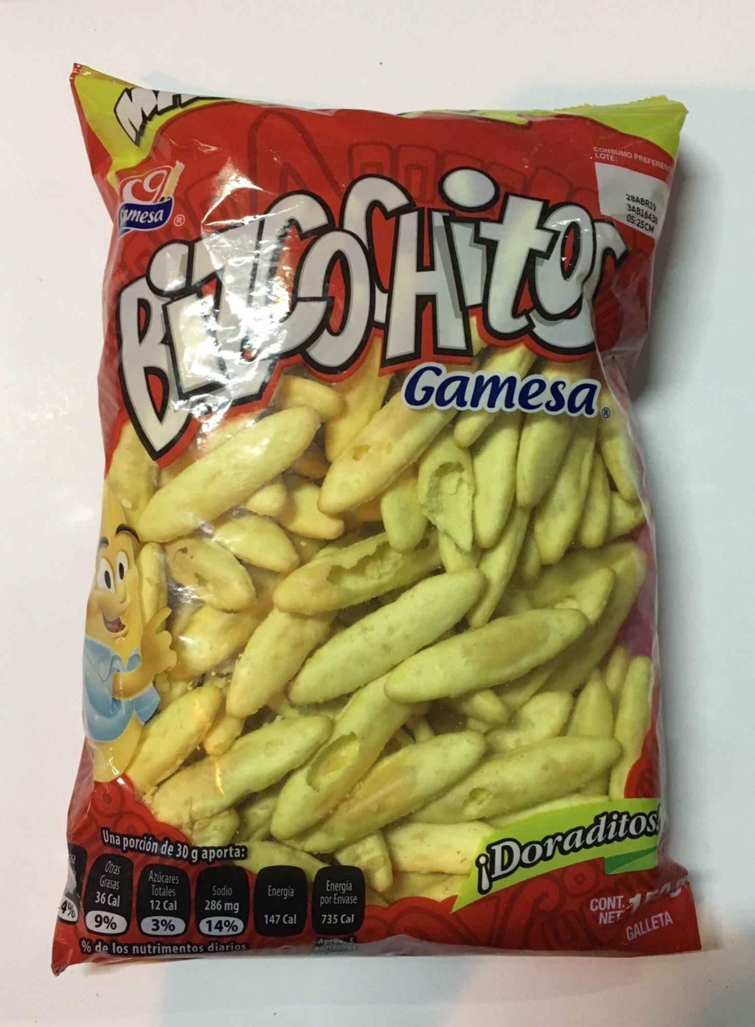 Bizcochitos Gamesa - Product - es