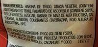 Bizcochitos Gamesa - Ingrediënten