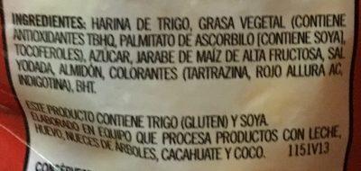 Bizcochitos Gamesa - Ingrediënten - es