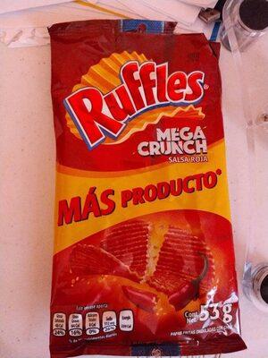 Mega crunch salsa roja - Producto - es