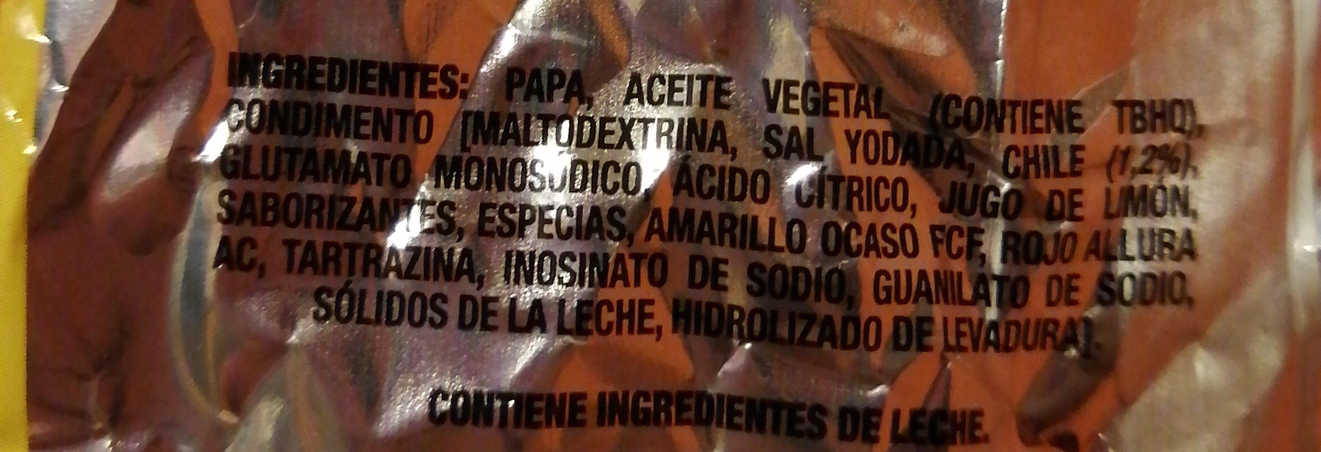 Mega crunch salsa roja - Ingredientes - es