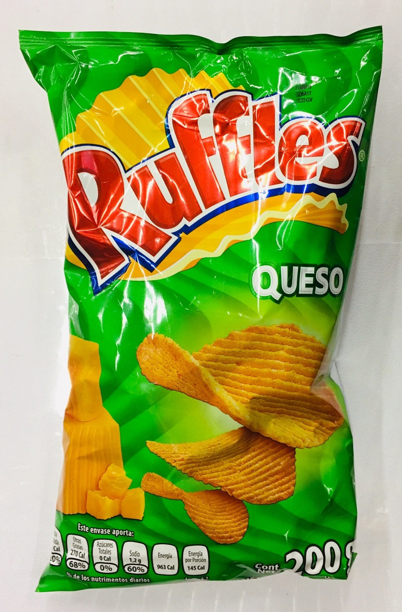 Ruffles Queso - Product - es
