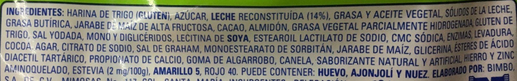 Nito 4 pack - Ingrediënten