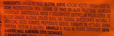 Mantecadas sabor vainilla - Ingrédients - es