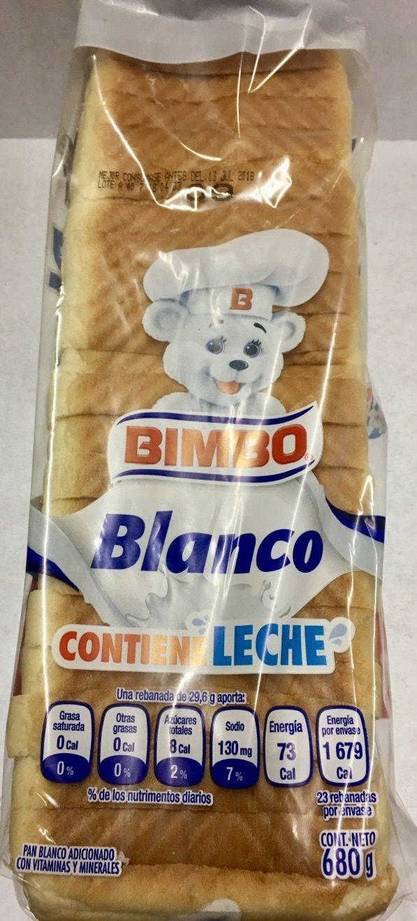 PAN BLANCO - Producto - es