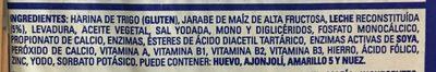 PAN BLANCO - Ingredientes - es