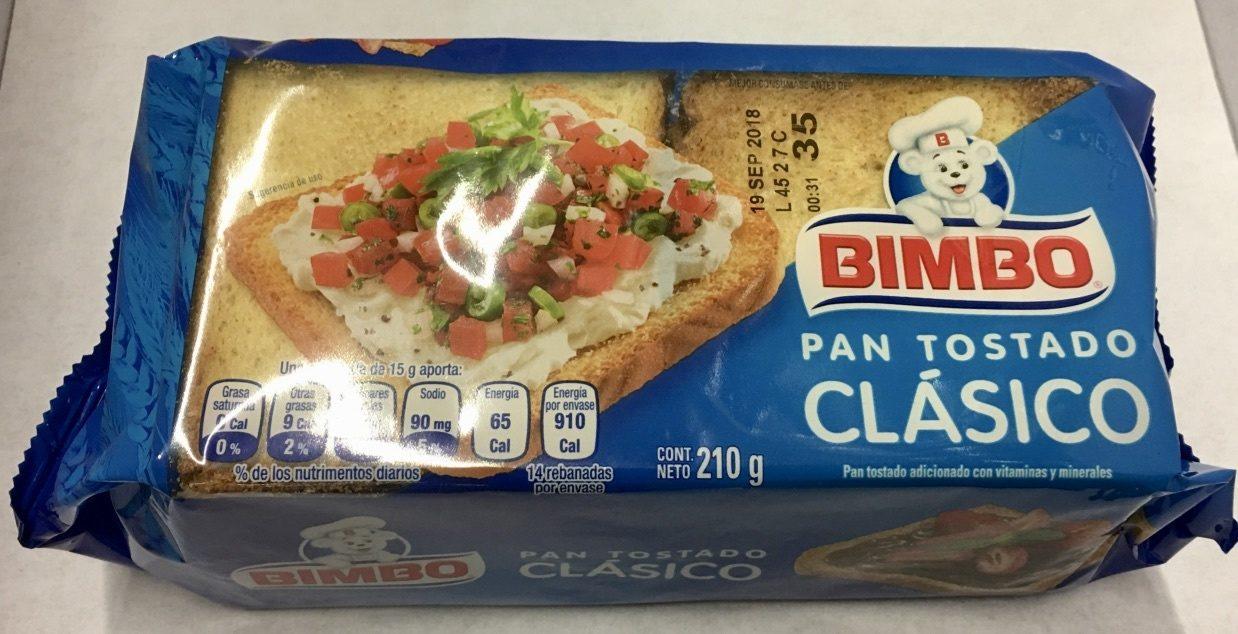 Pan Tostado Clásico - Producto - es