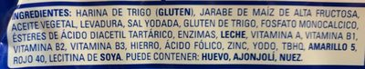 Pan Tostado Clásico - Ingredientes - es