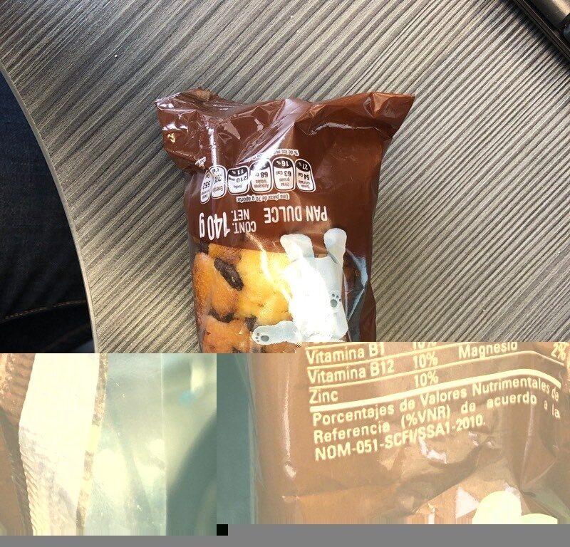 Panquecitos con chispas sabar a chocolate - Product - es