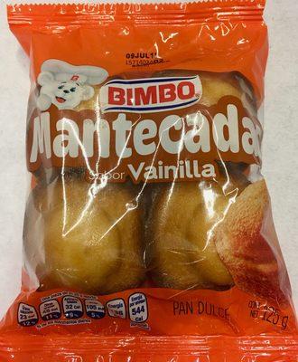 Mantecadas sabor vainilla - Produit