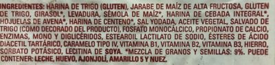 Pan integral - Ingredientes - es