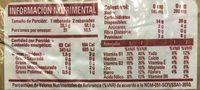Multi Grano - Informations nutritionnelles