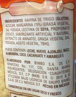 DORADITAS TÍA ROSA - Ingrediënten - es