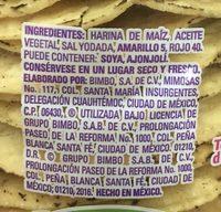 Tostadas onduladas - Ingrédients - es