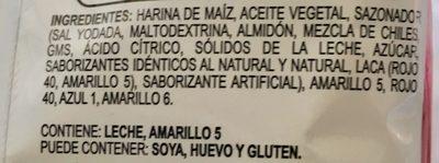 Chipotles sabor chipotle y queso - Ingrediënten - es