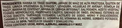 Pan Multigrano Linaza Chico Bimbo 540GR. - Ingredientes - es
