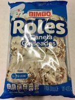 ROLES de Canela Glaseados - Produit - es
