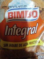 Pan integral - Producto - es