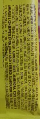 multi Grano Linaza - Ingredients