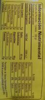 multi Grano Linaza - Nutrition facts