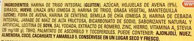 Multigrano linaza - Ingredientes - es