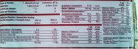 Oroweat 12 Granos - Información nutricional - es