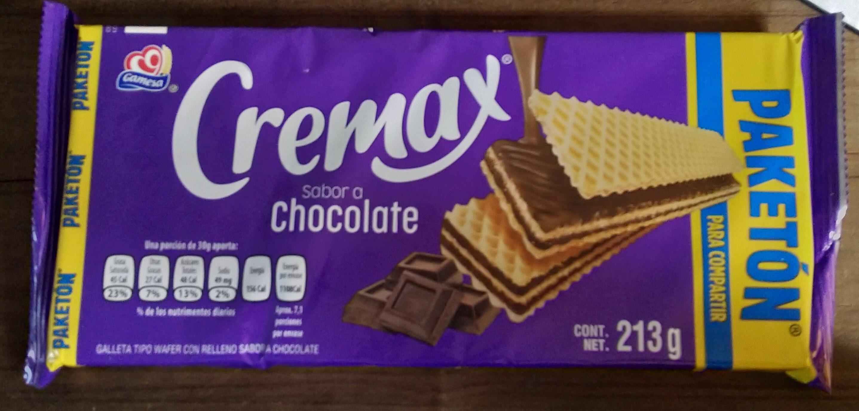 Cremax sabor a chocolate - Producto - es