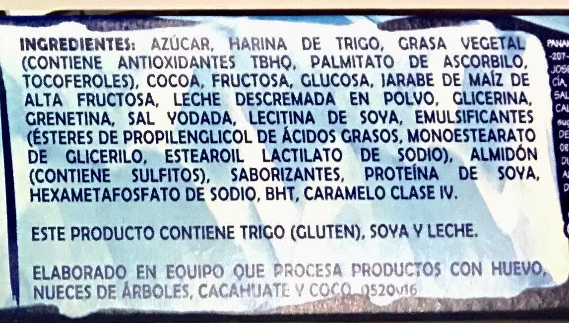 MAMUT - Ingrédients - es