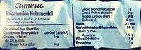 MAMUT - Informations nutritionnelles - es