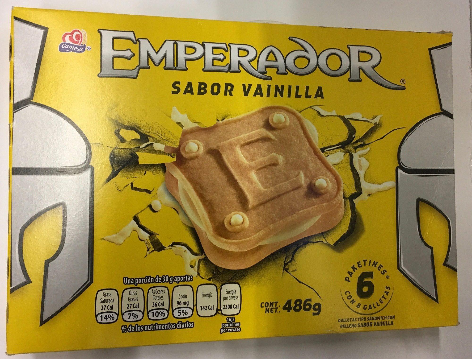 Emperador sabor vainilla - Produit