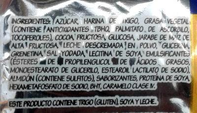 Mamut - Ingredients - es