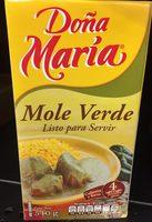 Mole Doña María - Product - es