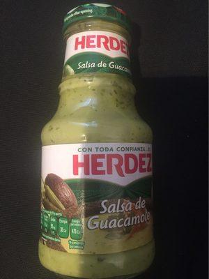 Salsa guacamole frasco 240 g - Product - es