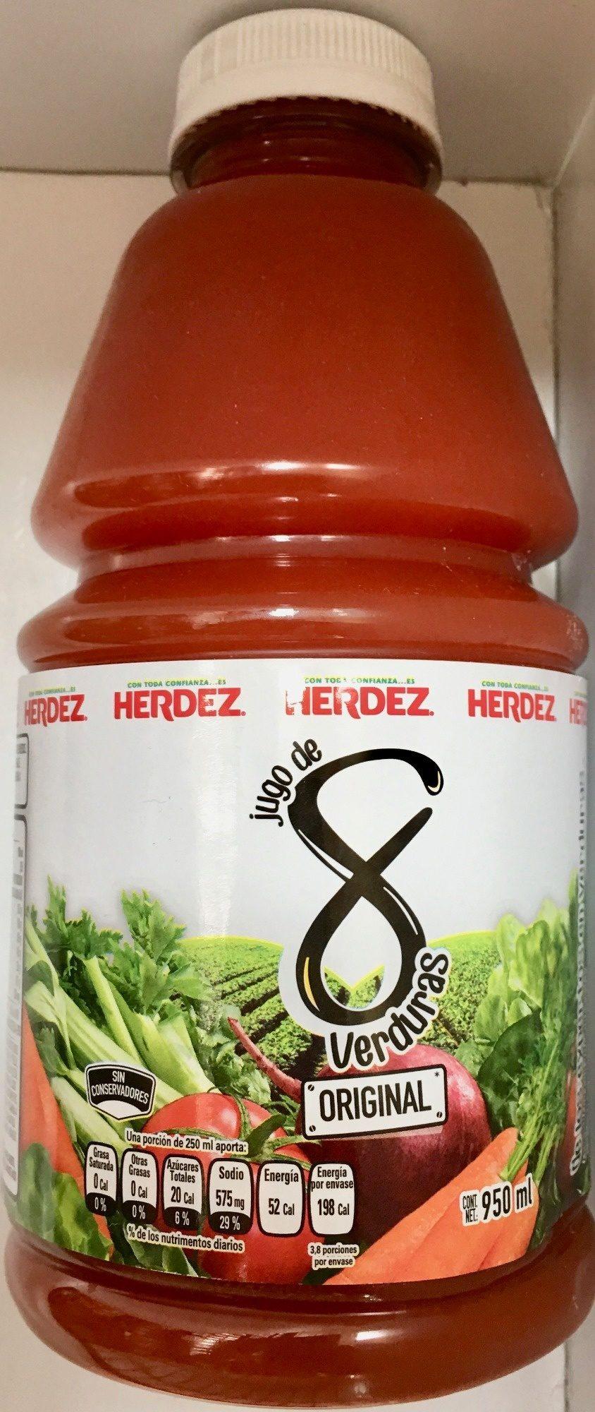 Herdez Jugo de 8 verduras - Product - es