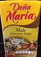 Mole Doña Maria - Produit