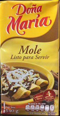 Doña María Mole - Product - es