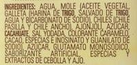 Doña María Mole - Ingrediënten - es