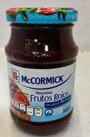 Mc Cormick Mermelada Frutos rojos - Produit - es