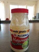 Mayonesa McCormick - Producte - es