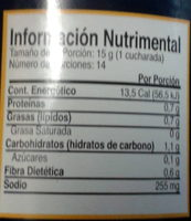 Mostaza tipo Dijon - Nutrition facts - es