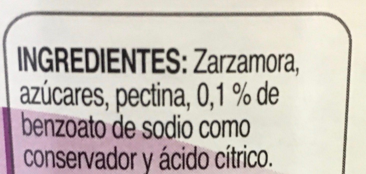 McCormick Mermelada de Zarzamora - Ingrediënten