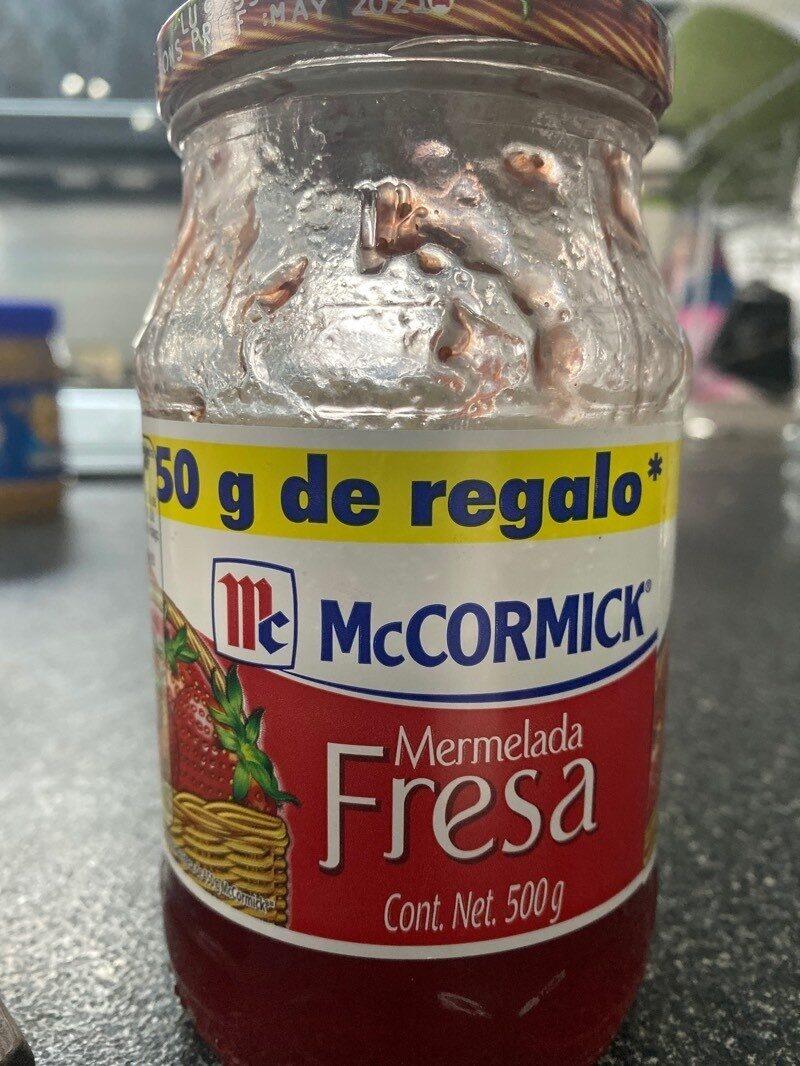 Mermelada de fresa - Producto - es