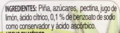 MERMELADA DE PIÑA McCORMICK - Ingrédients - es