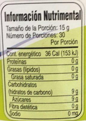 MERMELADA DE PIÑA McCORMICK - Informations nutritionnelles - es