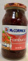 MC CORMICK MERMELADA DE FRAMBUESA - Produit - es