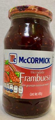 MC CORMICK MERMELADA DE FRAMBUESA - Product