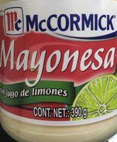 Mayonesa Con Limon En Frasco - Produit