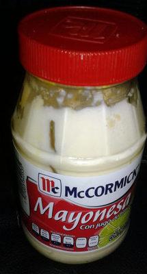 Mayonesa con jugo de limones - Product - es