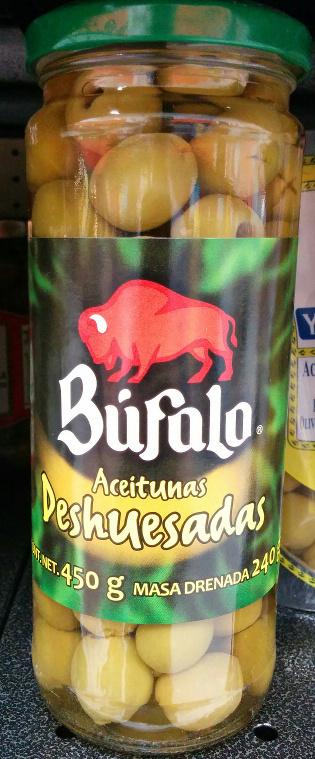 Aceitunas deshuesadas Búfalo - Product - es