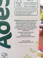 Soya con jugo de fruta - Ingredients - en
